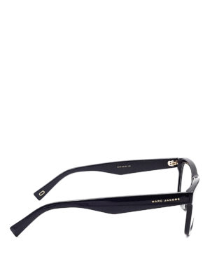 Marc Jacobs: glasses online - Acetate squared eyeglasses