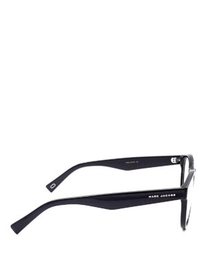Marc Jacobs: glasses online - Black acetate optical glasses