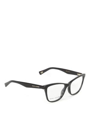 Marc Jacobs: glasses - Squared acetate frame eyeglasses