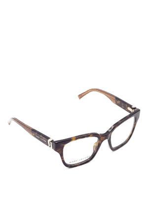 Marc Jacobs: glasses - Tortoiseshell squared eyeglasses