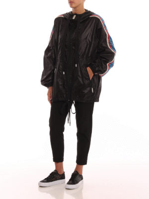 MARC JACOBS: giacche casual online - Giacca a vento oversize nera
