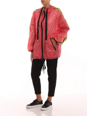 MARC JACOBS: giacche casual online - Giacca a vento oversize rosa