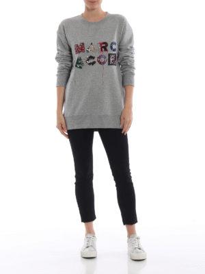 MARC JACOBS: Felpe e maglie online - Felpa con logo lettering divertente