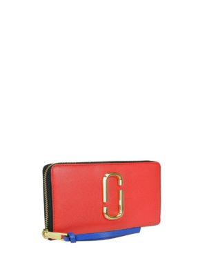 MARC JACOBS: portafogli online - Portafoglio Snapshot Standard rosso