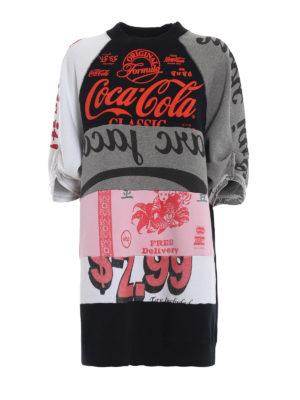 MARC JACOBS: Felpe e maglie - Felpa lunga patchwork Coca-Cola®