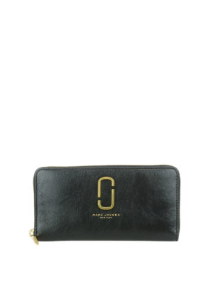 Marc Jacobs: wallets & purses - Leather continental wallet