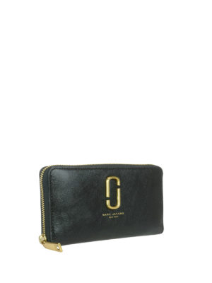 Marc Jacobs: wallets & purses online - Leather continental wallet