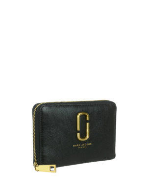 Marc Jacobs: wallets & purses online - Leather zipped wallet