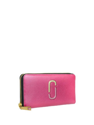 Marc Jacobs: wallets & purses online - Two-tone continental wallet