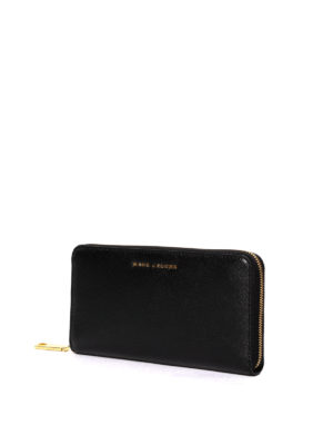 Marc Jacobs: wallets & purses online - Two-tone saffiano wallet
