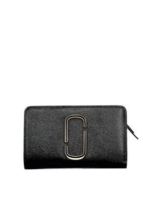 1624917b94 MARC JACOBS: portafogli - Portafoglio Snapshot nero e bianco