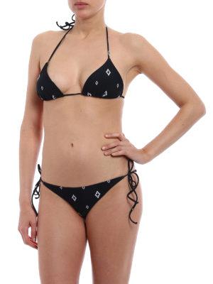 Marcelo Burlon: bikinis online - All over Cross two-piece bikini