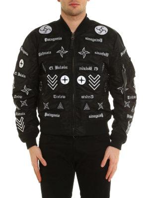 Marcelo Burlon: bombers online - Roldan Alpha MA-1 bomber jacket