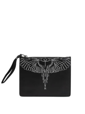 Marcelo Burlon: Cases & Covers - Asierbag printed leather pouch