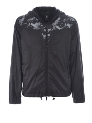 Marcelo Burlon: casual jackets - Camou Wings windbreaker