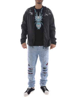 Marcelo Burlon: casual jackets online - Camou Wings windbreaker