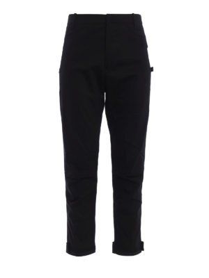 Marcelo Burlon: casual trousers - Daniel cotton trousers