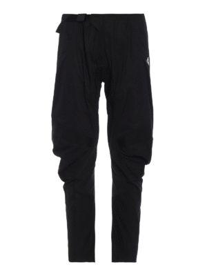 Marcelo Burlon: pantaloni casual - Pantaloni da moto in nylon leggero
