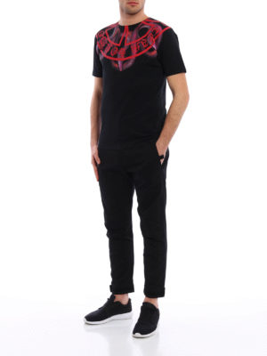 Marcelo Burlon: casual trousers online - Daniel cotton trousers