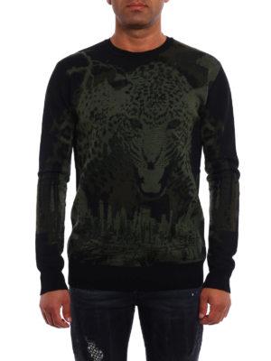 Marcelo Burlon: crew necks online - Sulupe wool jacquard sweater