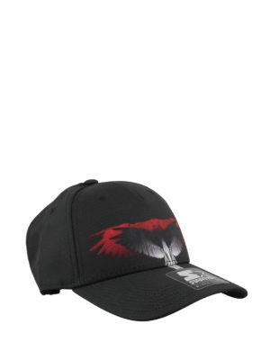33e8583eb1e Marcelo Burlon  cappelli - Cappello da baseball in tessuto tecnico nero