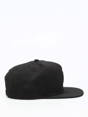 Marcelo Burlon: hats & caps online - Starter Lucas baseball cap