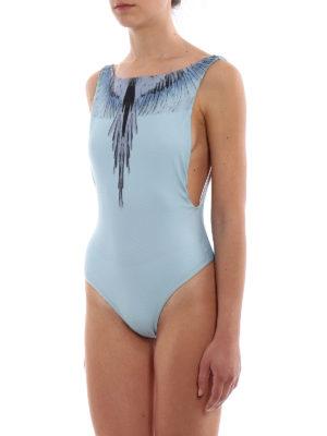 Marcelo Burlon: one-piece online - Wings one-piece swimsuit