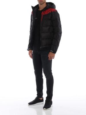 Marcelo Burlon: giacche imbottite online - Piumino corto Wings  con cappuccio