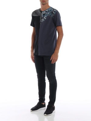 Marcelo Burlon: Felpe e maglie online - T-shirt Wings e Snakes in cotone