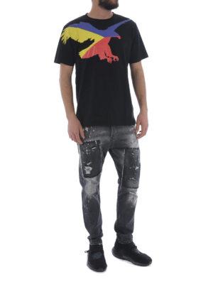 Marcelo Burlon: t-shirt online - T-shirt Eagle