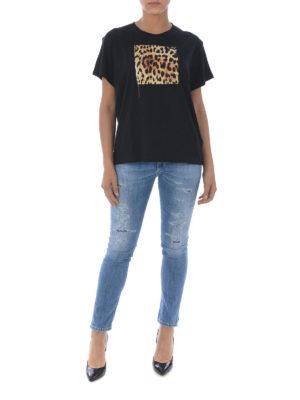 Marcelo Burlon: t-shirt online - T-shirt Leopard