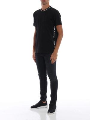 Marcelo Burlon: t-shirt online - T-shirt MB nera a manica corta