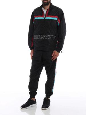 Marcelo Burlon: pantaloni sport online - Pantaloni da jogging con bande colorate