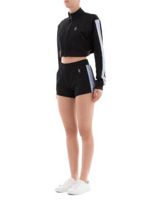 Marcelo Burlon: pantaloni shorts online - Shorts sportivi Cross Tape