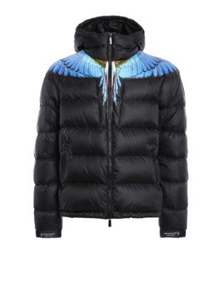 Marcelo Burlon: padded jackets - Patak padded jacket