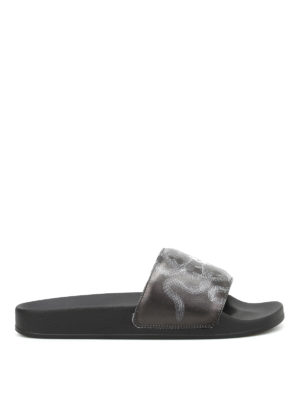 Marcelo Burlon: sandals - Essie Pool slippers