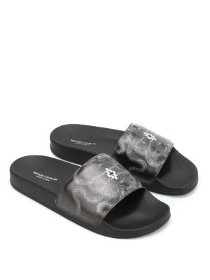 Marcelo Burlon: sandals online - Essie Pool slippers