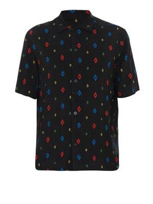 f9262418a0edaf Marcelo Burlon: camicie - Camicia nera All Over Cross