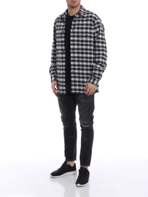 Marcelo Burlon: shirts online - Puma check flannel shirt