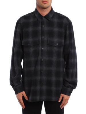 Marcelo Burlon: shirts online - Sham panther print check shirt