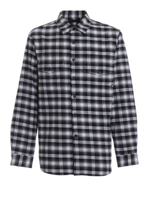 Marcelo Burlon: shirts - Puma check flannel shirt