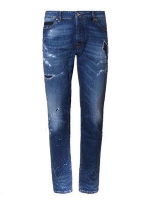 Marcelo Burlon: skinny jeans - Enrique slim fit jeans