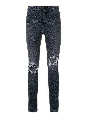 Marcelo Burlon: jeans skinny - Jeans skinny Leopard