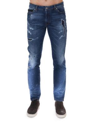 Marcelo Burlon: skinny jeans online - Enrique slim fit jeans