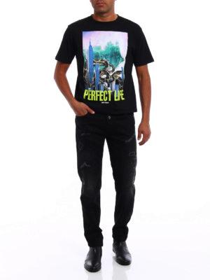 Marcelo Burlon: straight leg jeans online - Relmu slim fit jeans