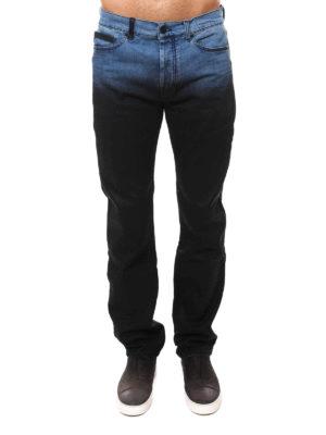 Marcelo Burlon: straight leg jeans online - Vintage Wash denim jeans