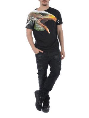 Marcelo Burlon: straight leg jeans online - Vintage Wash Regular Fit jeans