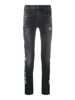 Marcelo Burlon: jeans dritti