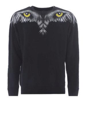 Marcelo Burlon: Sweatshirts & Sweaters - Eye Wings sweatshirt