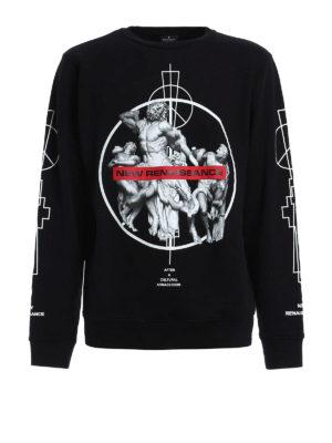 Marcelo Burlon: Sweatshirts & Sweaters - Fainu printed sweatshirt